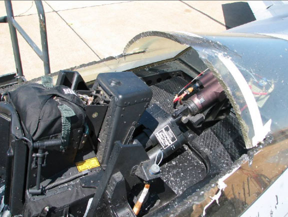 That Time an F-22 Pilot was Trapped for 5h in the Cockpit of His Raptor after Canopy Jammed